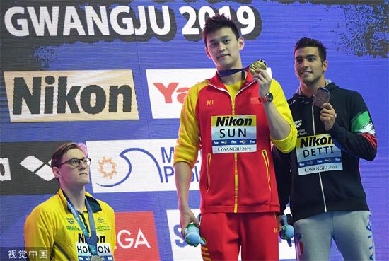 国际泳联警告澳大利亚游泳管理机构和霍顿