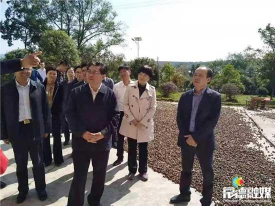 湖南省政府副省长隋忠诚来常德调研农业农村工作